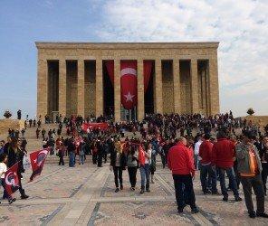 土耳其慶祝青年節與紀念國父凱末爾(05.19)