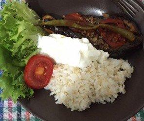【家常】我住在伊斯坦堡的冰箱裡 ─ 茄子鑲肉(Karnıyarık)