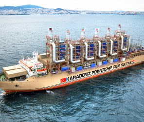 發電船成為土耳其企業進軍能源市場的利器