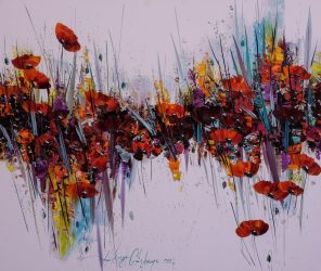 活动分享 虞美人之念-忆加里波利烈士 油画展