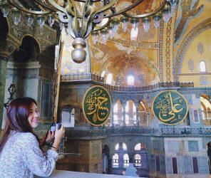 姐姐夏季自助遊記連載X-伊斯坦堡基本款 藍色清真寺 聖索菲亞大教堂 地下水宮