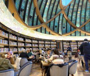 Nevmekan圖書館咖啡店 旋風拜訪伊斯坦堡亞洲區市長
